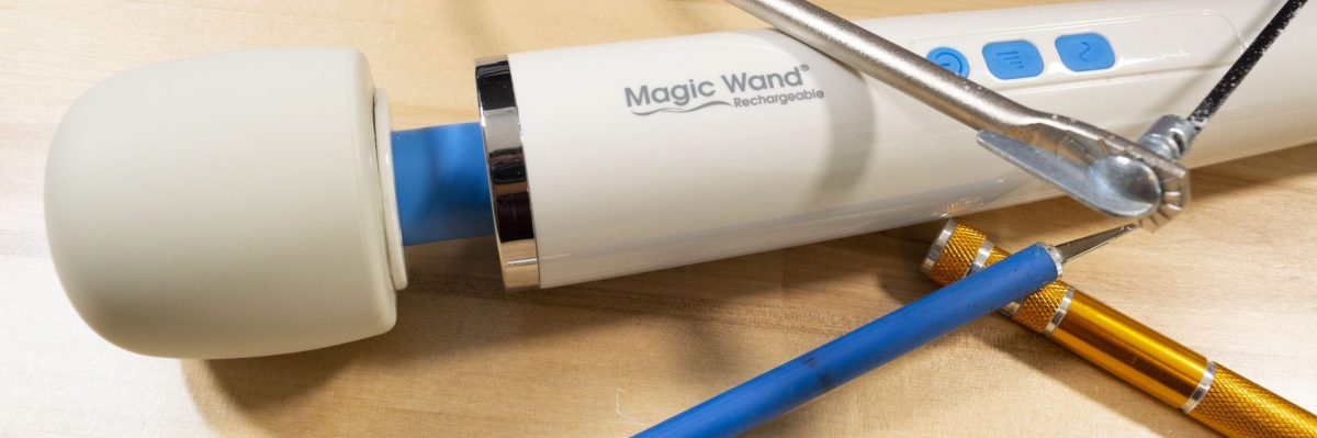Rumble Research: Magic Wand Rechargeable Teardown